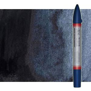 Totenart-Rotulador de acuarela gris de payne Winsor & Newton doble punta pincel