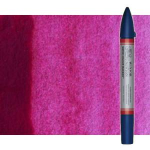 Totenart-Rotulador de acuarela magenta quinacridona Winsor & Newton doble punta pincel