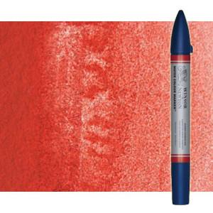 Totenart-Rotulador de acuarela rojo de cadmio tono Winsor & Newton doble punta pincel