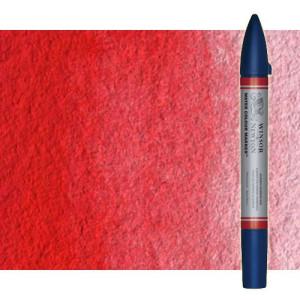 Totenart-Rotulador de acuarela rojo de cadmio claro tono Winsor & Newton doble punta pincel