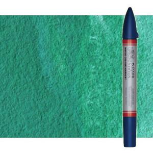 Totenart-Rotulador de acuarela Verde hooker oscuro Winsor & Newton doble punta pincel