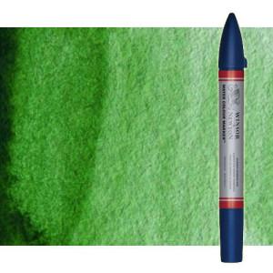 Totenart-Rotulador de acuarela Verde hooker Winsor & Newton doble punta pincel