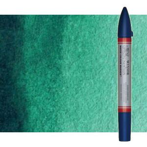 Totenart-Rotulador de acuarela Verde ftalo Winsor & Newton doble punta pincel