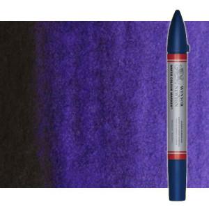 Totenart-Rotulador de acuarela violeta dioxacina Winsor & Newton doble punta pincel
