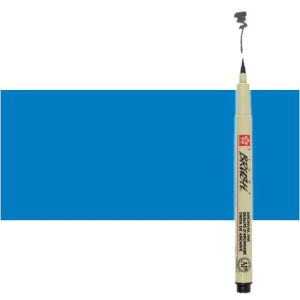 Totenart. Rotulador Azul Pigma Brush Sakura