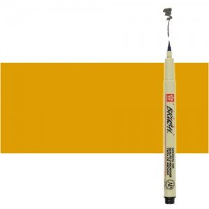 Totenart. Rotulador Naranja Pigma Brush Sakura