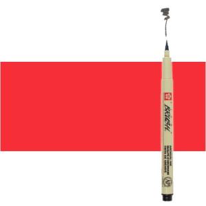 Totenart. Rotulador Rojo Pigma Brush Sakura