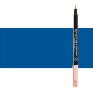 Totenart. Rotulador Azul de Prusia Koi Sakura al agua con punta pincel