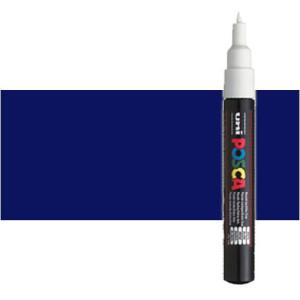 Totenart. Rotulador Posca Azul (300) PC1M, punta redonda (0.7 mm.)