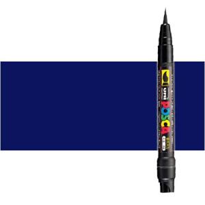 Totenart. Rotulador Posca Azul (300) PCF35, punta pincel