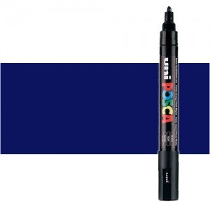 Totenart. Rotulador Posca Azul (300) PC5M, punta redonda (1.8-2.5 mm.)