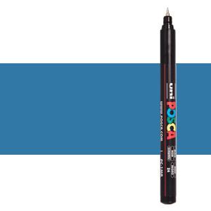 Rotulador Posca Azul metálico (N. M33) PC1MR, punta extra fina (0.7 mm.)