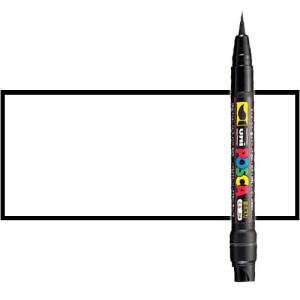 Totenart. Rotulador Posca Blanco (1400) PCF35, punta pincel