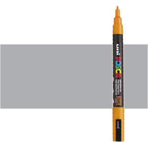 Totenart. Rotulador Posca Gris (1500) PC3M, punta redonda (0.9-1.3 mm.)