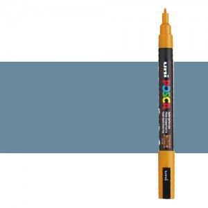 Rotulador Posca Gris Pizarra (1510) PC3M, punta redonda (0.9-1.3 mm.)