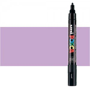 Totenart. Rotulador Posca Lila (820) PC5M, punta redonda (1.8-2.5 mm.)
