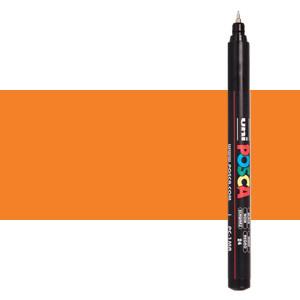 Rotulador Posca Naranja (N. 4) PC1MR, punta extra fina (0.7 mm.)