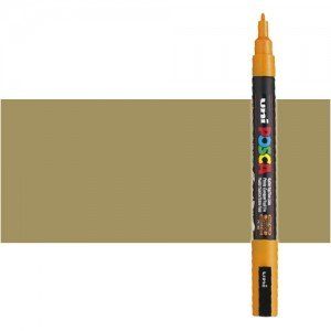 Totenart. Rotulador Posca Oro (1300) PC3M, punta redonda (0.9-1.3 mm.)