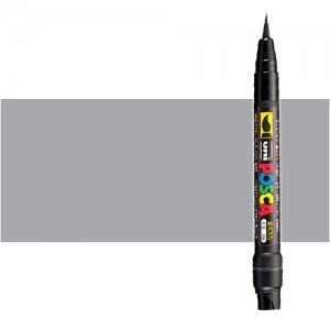 Totenart. Rotulador Posca Plata (1200) PCF35, punta pincel