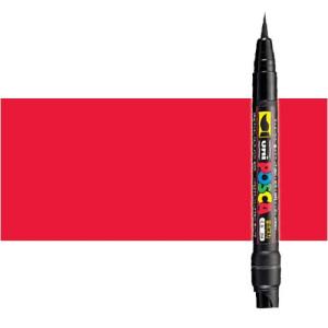 Totenart. Rotulador Posca Rojo (400) PCF35, punta pincel