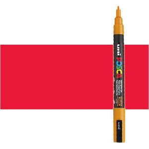 Totenart. Rotulador Posca Rojo (400) PC3M, punta redonda (0.9-1.3 mm.)