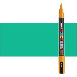 Totenart. Rotulador Posca Verde esmeralda (530) PC3M, punta redonda (0.9-1.3 mm.)