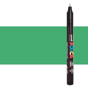 Rotulador Posca Verde Metálico (N. M6) PC1MR, punta extra fina (0.7 mm.)
