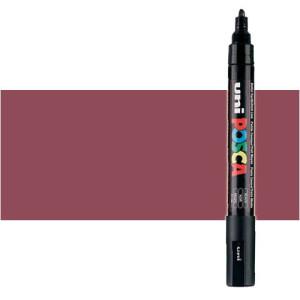 Totenart. Rotulador Posca Rojo vino (900) PC5M, punta redonda (1.8-2.5 mm.)