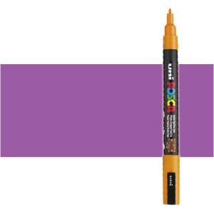 Totenart. Rotulador Posca Violeta (800) PC3M, punta redonda (0.9-1.3 mm.)
