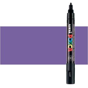 Totenart. Rotulador Posca Violeta metálico (850) PC5M, punta redonda (1.8-2.5 mm.)
