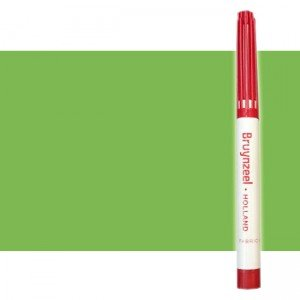 totenart-Rotulador Textil Verde Bruynzeel