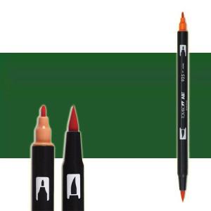 totenart-rotulador-tombow-color-177-jade-oscuro-con-pincel-y-doble-punta