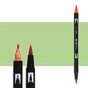 totenart-rotulador-tombow-color-243-menta-con-pincel-y-doble-punta