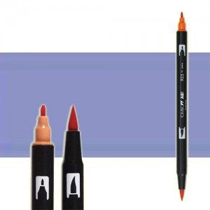 totenart-rotulador-tombow-color-603-perywickle-con-pincel-y-doble-punta
