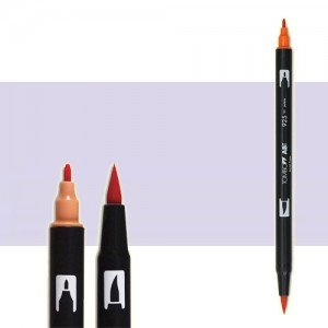 totenart-rotulador-tombow-color-620-lila-con-pincel-y-doble-punta
