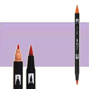 totenart-rotulador-tombow-color-623-purpura-sage-con-pincel-y-doble-punta