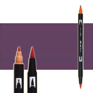 totenart-rotulador-tombow-color-679-pluma-oscuro-con-pincel-y-doble-punta