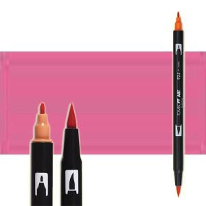 totenart-rotulador-tombow-color-703-rosa-pink-con-pincel-y-doble-punta