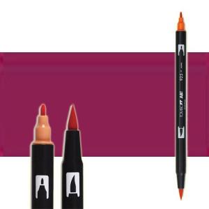 totenart-rotulador-tombow-color-757-rojo-prot-con-pincel-y-doble-punta