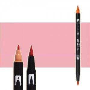 totenart-rotulador-tombow-color-772-blush-con-pincel-y-doble-punta