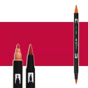 totenart-rotulador-tombow-color-847-crimson-con-pincel-y-doble-punta