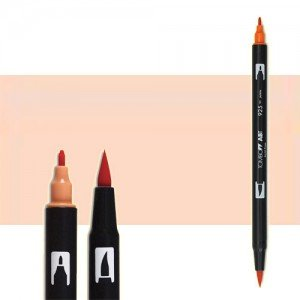 totenart-rotulador-tombow-color-850-flesh-con-pincel-y-doble-punta