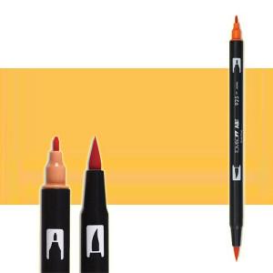 totenart-rotulador-tombow-color-991-ocre-claro-con-pincel-y-doble-punta