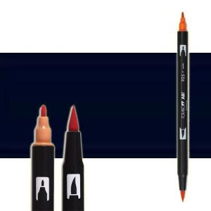 totenart-rotulador-tombow-color-n15-negro-con-pincel-y-doble-punta
