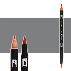 totenart-rotulador-tombow-color-n55-gris-frio-7-con-pincel-y-doble-punta