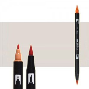 totenart-rotulador-tombow-color-n89-gris-calido-1-con-pincel-y-doble-punta