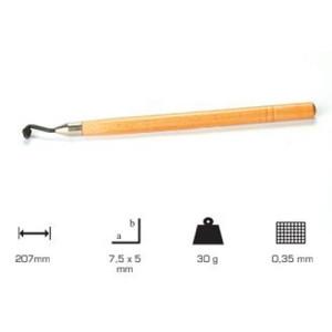Ruleta Artools mango largo 7.5x5 p:0.35
