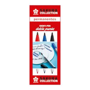 totenart-Set 3 rotuladores Identi Pen Sakura 3 colores