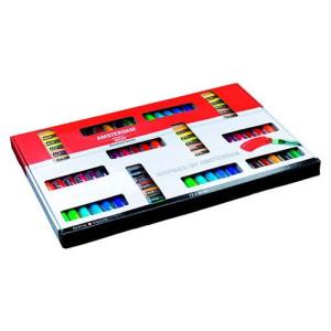 totenart-Gran Pack de acrílicos Amsterdam, Standard Series (70 colores + 2 tubos de blanco)