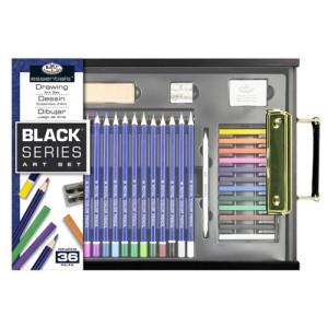 Set de dibujo Black Series (36 piezas), Royal&Langnickel